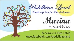 Podelkino Land - Handcraft fun for kids